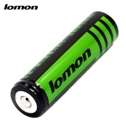 Wholesale Battery For Flash - 4 Pieces   Lot 18650 2800mAh 3.7V Rechargeable Lithium Li-ion Battery Cell Batteries for Headlamp Flashlight Torch Flash light Camping Light