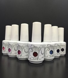 Wholesale Gelish Polish Colors - Soak Off Nail Gel Polish For Nail Art Real Photos 288 Colors Hight Quality Gel Lacquer Led uv Harmony Gelish