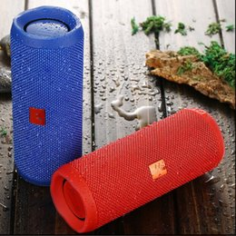 Wholesale Flips Speakers - Flip3 Portable Wireless Speakers 2017 Hot Sell Outdoor Subwoofers Bluetooth Big Sound HIFI flip 3 Stereo Loudly Speaker For Iphone 8 Samsung