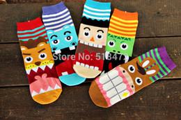 Wholesale-2016 Komik Yani büyük ağız Ağlayan hayvanlar 3D çorap Sıcak satış Kadınlar karikatür pamuk çorap supplier 3d animal socks wholesale nereden 3 boyutlu hayvan çorapları toptan satışı tedarikçiler
