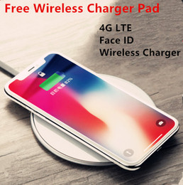 Wholesale Nano Mobile Charger - 2018 HOT Goophone X Wireless Charger With 4G LTE Face ID Quad Core 1920*1080 256GB ROM Mobile Phone Sealed Box