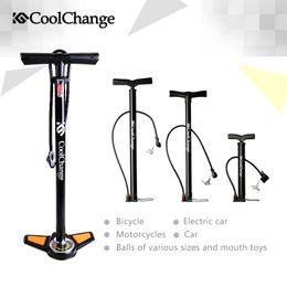 Wholesale Floor Bicycle Pump - 2015 Coolchange High Pressure Pump Bicycle Pump Electric cars Air Pump Cars Air Pump Free Shipping