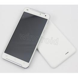Wholesale Cheapest Quad Core Cell Phones - Cheapest 5.5 Inch MTK6580 Quad Core Android 6.0 3G Cell Phone 512MB 8GB Dual SIM flash light Unlcoked Smartphone X-BO X9 Free case 10pcs