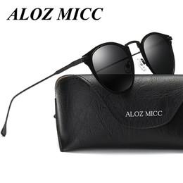 Wholesale lentes sol mujer - ALOZ MICC Women Polarized Sunglasses Cat eye Brand Designer Sun Glasses Steampunk lentes de sol mujer Driving Zonnebril Dames A300