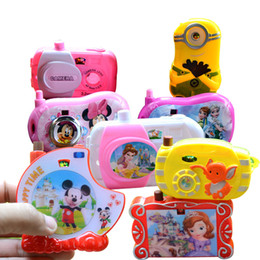 Wholesale Image Resin - Children's street heating, small toy wholesale simulation camera, transform image, mini projection camera