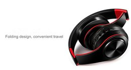 Wholesale Tf Card Bluetooth Headset - High Quality Wireless Headphone S450 Stereo Bluetooth Headsets with Mic Earphone Support TF Card for iPhone