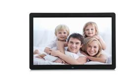 15 marco digital Rebajas Nuevo marco de 15 pulgadas HD Frame Pantalla LED 1280 * 800 Marco de fotos digital compatible Despertador Calendario MP3 MP4 Movie Player con control remoto