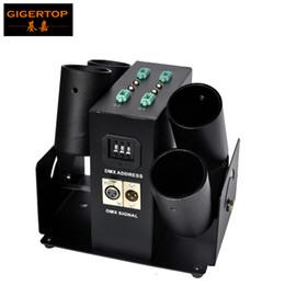 Wholesale Power Shoots - Integral 4-shot Confetti Machine DMX512 Control 4 Channels Jet Height 6-8 Meters 50W Power Confetti Machine CE Certificate