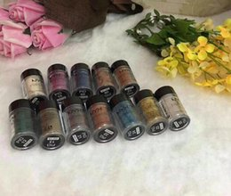 Wholesale Blue Concealer - EPACK 12COLORS NYX Glitter EYESHADOW Cream Concealer Cream NYX Glitter Face and Body Shimmer Powder 6 colors Eyeshadow Powder IN STOCK DHL