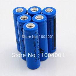 Wholesale Aa Batteries Alkaline - New Ultrafire 5pcs lot 1200MAH 3.7V 14500 Li-ion battery rechargeable AA battery cell lithium ion batteries pilas baterias