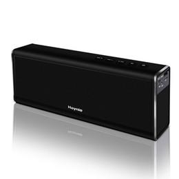 Süper Bass 20W Bluetooth Hoparlör 4000mAh Güç Bankası Güçlü Taşınabilir Kablosuz Bilgisayar Metal Araba Hoparlör Mikrofon VS Bluedio BS-3 Ücretsiz Kargo nereden