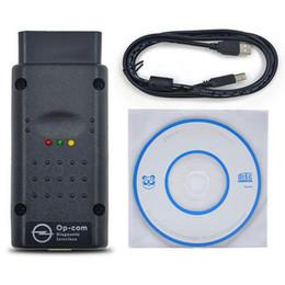 Wholesale Code Detector - opcom OP com auto diagostic tool for Opel op-com V1.45 super Car OBD OBDII OBD2 OBD 2 tester scanner detector