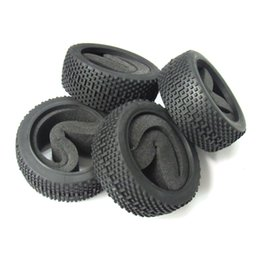 Wholesale Rc Tyres - 4pcs OD-112m Rubber Tires Tyre with Foam for RC 1 8 Off-Road Car Buggy Crawler