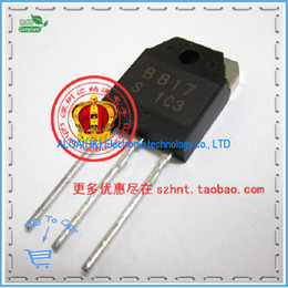 Wholesale Low Frequency Power Amplifier - Wholesale-Free shipping .The new amplifier tube B817 2SB817 TO-247 good for leakage