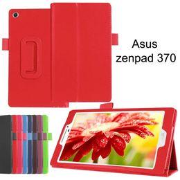 Wholesale Asus Fonepad Me371 Case - Folio PU Leather Cover Case Tablet PC Cases Bags Holder for ASUS Zenpad 10.0 8.0 7.0 Fone Pad FE 171 Zenpad Z170 Zenpad Z580 100pcs lot