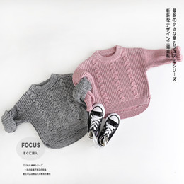 Wholesale Cute Sweaters For Baby Girls - Baby Girls Sweater Tutu 2016 Autumn Childrens Long Sleeve for Kids Clothing Party Flower Tutu Sweater