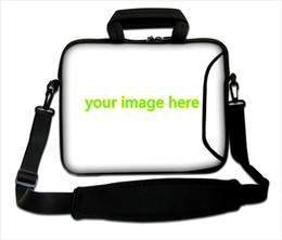 Wholesale Computer Parts Laptops - DIY bag Promotion your style laptop sleeve bag huado computer spare parts customized print photos notebook bag