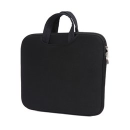 Wholesale Wholesale Ipad Cases Neoprene - 6 Colors New Zipper Laptop Sleeve Case 11-15.6 inch Soft Cover Bag For Apple Macbook AIR PRO with OPP plastic bag1