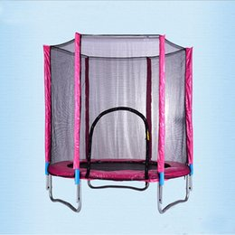 Wholesale Boring Cylinder - Wholesale- Safety indoor outdoor gym spring trampoline cylinder card point 360 degree with protective net 100KG load bearing