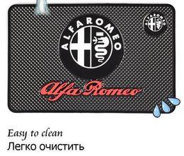 Wholesale anti toyota - Car Anti Slip Mat Styling Interior Accessories For Mobile Phone mp3 mp4 GPS Pad Black For Toyota BMW Audi Benz Lada Alfamemo