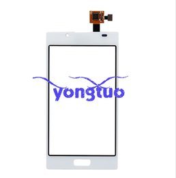 Wholesale Lg L7 Screen - For LG Optimus L7 P700 P705 Digitizer Touch Screen With Flex Cable Replacement For LG Optimus L7 P700 P705 Touch Panel