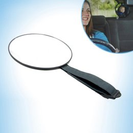 Wholesale Rear Back Car Mirror - Good Quality Car Back Seat Mirror Baby Facing Rear Ward View Headrest Mount Mirror Square Safety Baby Kids Monitor