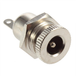 Wholesale High Quality Power Jack - 1Pcs DC Power Jack Socket Female Panel Mount Connector 5.5 mm x 2.1mm High Quality