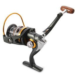 2019 señuelos giratorios Envío gratis carrete de spinning pesca DK2000-DK5000 13BB 5.5: 1 carrete de spinning carrete de pesca carrete señuelo línea señuelos giratorios baratos