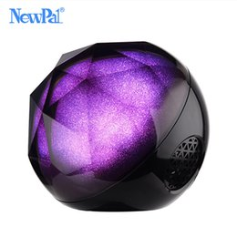 Wholesale ball mp3 - Wholesale- MINI Portable Bluetooth Speaker with Remote Control Crystal Ball HIFI Stereo Column Speaker Support SD Card For Xiaomi Phone