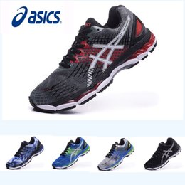 Wholesale Hockey Pink - New Color Asics Nimbus17 Running Shoes Men Shoes , Lightweight Breathable Athletics Discount Sneakers Sports Shoes Free Shipping Eur 36-45
