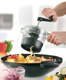 Wholesale Hand Fruit Peeler - Hand Screw Vegetable Fruit Peeler Cutter Multifunction Kitchen Chopper Slicer Tools