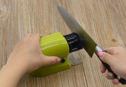 Wholesale Electric Knives - Professional Electric knife sharpener afilador cuchillos diamond sharpening stones system Household Sharpener ZD038