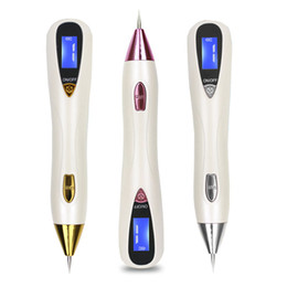 Wholesale Spot Remover Facial Machine - New Arrival Laser Plasma Pen Face Skin Dark Spot Remover Mole Tattoo Removal Machine Facial Freckle Tag Wart Removal Beauty Care