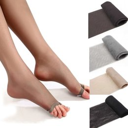 Wholesale Sexy Toes Tights - Wholesale-1Pc Strong Breathability Tights Pantyhose Sexy Fashion Core Silk Women's Stocking Open Toes Stocking Tight Pantyhose Top Sale