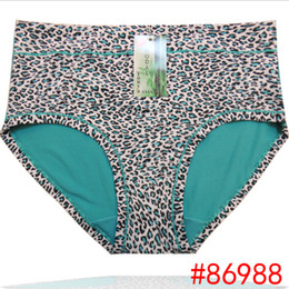 Wholesale Leopard Women Underwear - Wholesale-4XL 5XL hipster sexy women panty underwear panties pink tanga seamless calcinha ropa interior femme mujer thong lingerie VS106