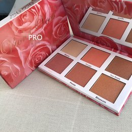Wholesale Rose Violet - (In Stock) - Dropshipping Violet Voss Rose Gold Highlighter Palette Face Bronzers & Highlighters 6 Color glow free shipping