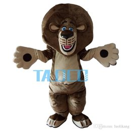 Wholesale Lion Mascot Costumes Adults - Huge Quality Lion Mascot Costume Cartoon Outfit Suit Free Shipping Adult Size