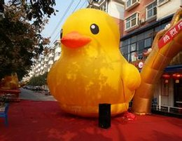Wholesale Commercial Inflatables - inflatable yellow duck 2 M high rubber duck use for open business ,Commercial activity,exhibition ,Christmas, outdoor advertisin