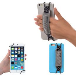 Canada Porte-courroie de sécurité TFY Smartphone pour iPhone7 / 7Plus, téléphones Samsung et autres téléphones (noir / gris) Offre