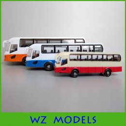 Wholesale Diecast Buses - Newest 1:75 scale diecast model toy bus in quite high quality ABS plastic