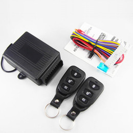Wholesale Car Alarm Door Lock - Universal Central Door Lock Vehicle Keyless Entry System Car Alarm Remote Control Styling Tools