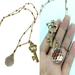 Wholesale Sailor Moon Costumes For Women - Anime Sailor Moon Necklace Cosplay Accessories Golden Fashion Jewelry Metal Pendant for Women Girls Men Boys
