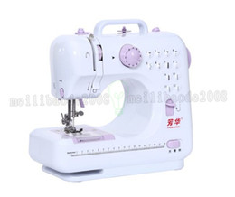 Wholesale Mini Portable Electric Sewing Machine - Hot sale 12 Stitches mini Sewing Machine Portable Knitting Machine Multifunction Electric Replaceable Presser Foot maquina de costura MYY