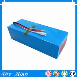 Wholesale Electric Charger Power - DIY lithium battery super power electric bike battery 48v 20ah lithium ion battery +charger+BMS