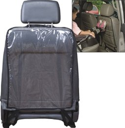 Wholesale Transparent Car Mats - 150pcs Transparent PVC Accessories Boy Toddler Anti Kick Mat Car Back Seat Protection Cover Protector Sheet Auto Liner Vehicle Mat ZA0309