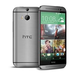 "Wholesale Unlocked Gsm Cellphones - Original HTC One M8 Unlocked phone GSM 3G&4G 2G 32G smartphone 5.0"" WIFI GPS Android Quad-core Refurbished phone"