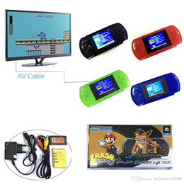Wholesale Portable Music Systems - PVP 8 Bit PXP3 16 Bit Mini Portable Handheld Video Game Player Digital Pocket System Game Consoles TV AV Output 2.5 Inch TFT LCD Screen