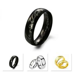 2019 anillos tibetanos de la joyería de la turquesa Marca nueva 30pcs lotes mixtos el señor del anillo de la banda superior de la joyería de acero inoxidable de los hombres al por mayor