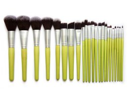 Wholesale Hot Brush Hair Care - 2016 Hot 23PCS set Makeup Brushes Professional Foundation Eyeshadow Duo Powder Blusher Lip Cosmetic Brushes Women Beauty Face Care Tools