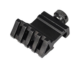 Wholesale Weaver Mount Rails - Tactical 45 Degree Angle Offset Side 4 Slot Mount 20mm Picatinny Weaver Laser Scope Rail Mount Base Adapter Sight Scope Mount